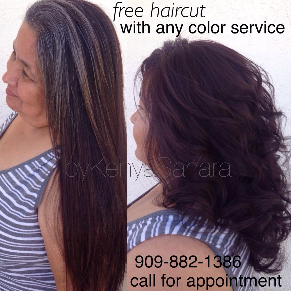 Free Haircut With Any Color Service Yelp