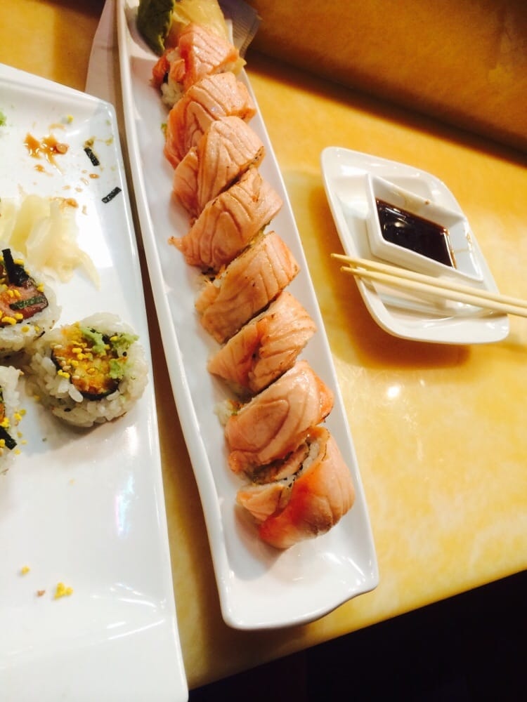 This salmon was swimming this morning shogun always had - Shogun japanese cuisine ...