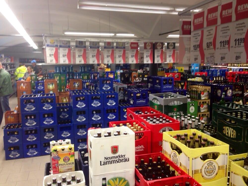 Rewe Getränkemarkt - Beverage Store - Heiglhofstr. 4, Hadern, Munich ...
