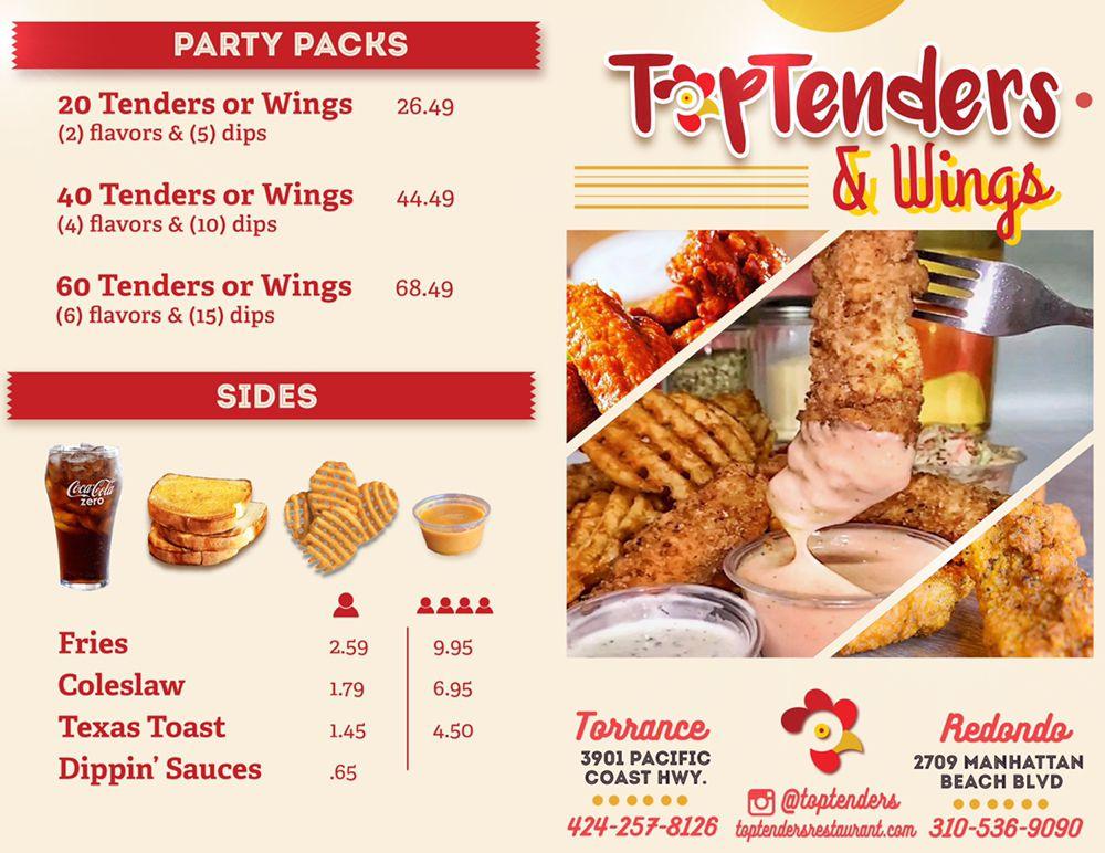 Top Tenders & Wings: 2723 Manhattan Beach Blvd, Redondo Beach, CA