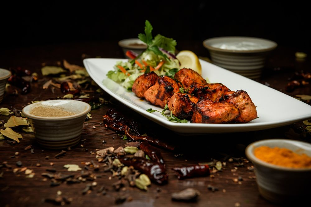 Food from Pakeezah Authentic Indian Cuisine