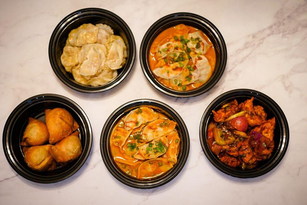 Food from Momo House - Nepali Styled Dumplings