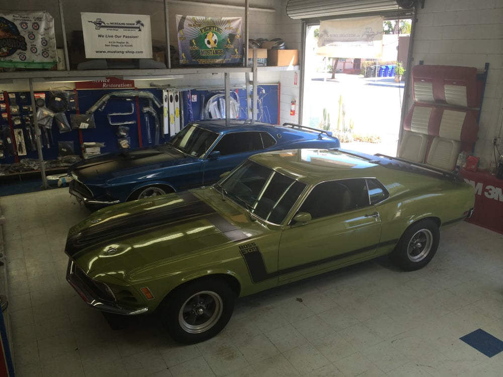 The Mustang Shop of San Diego - 20 Photos & 14 Reviews - Body Shops - 4124 Poplar St, City ...