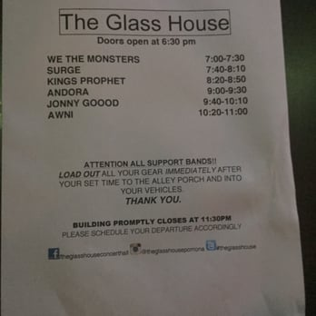 The Glass House 116 Photos 302 Reviews Music Venues 200 W