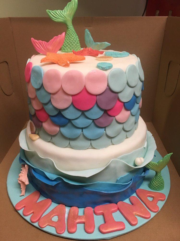 Mermaid Theme Birthday Cake Yelp