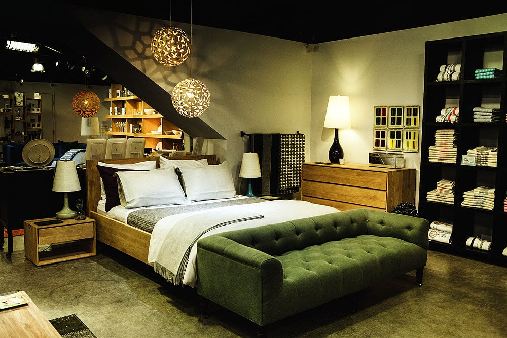 Oak Azur Bed By Ethnicraft And Area Bedding At Lekker Home Yelp