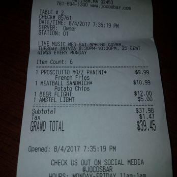 Joco S Bar Amp Kitchen Order Food Online 35 Photos Amp 104
