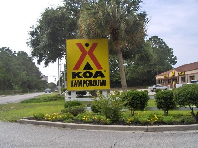 Koa Near Myrtle Beach
