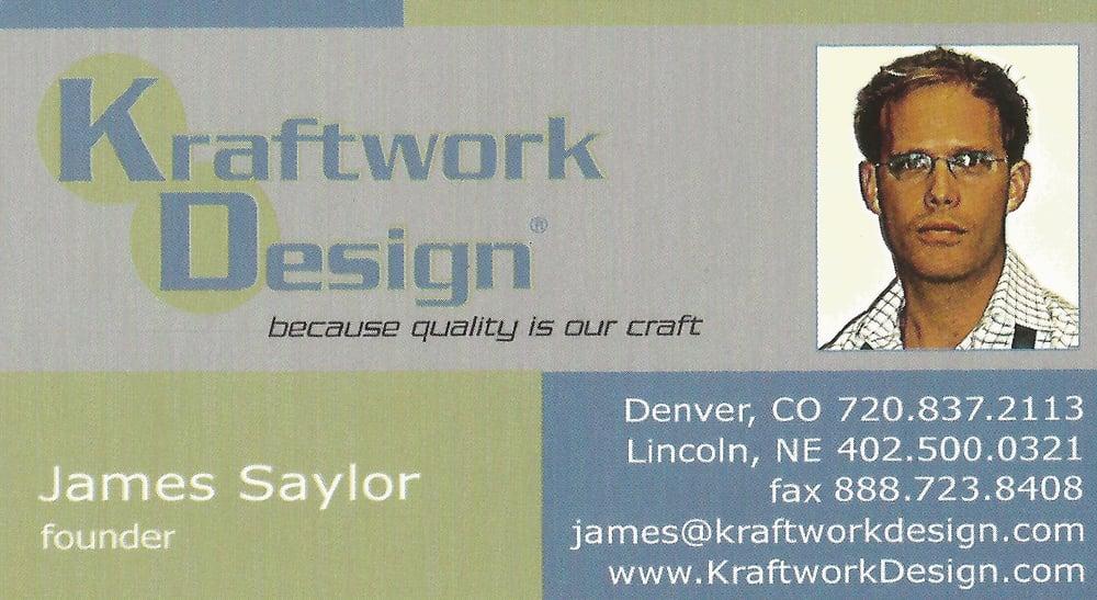 Kraftwork Design INC: 1834 N 67th St, Lincoln, NE