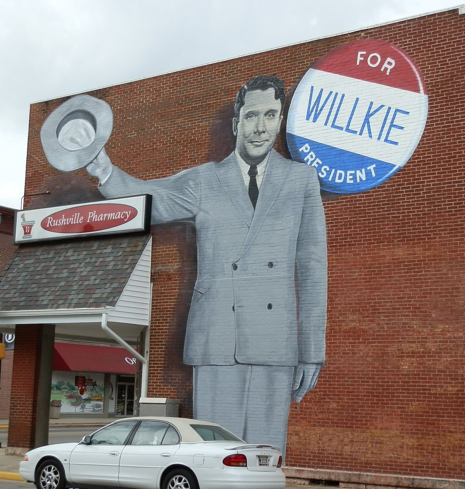 Wendell Willkie Mural: Rushville, IN