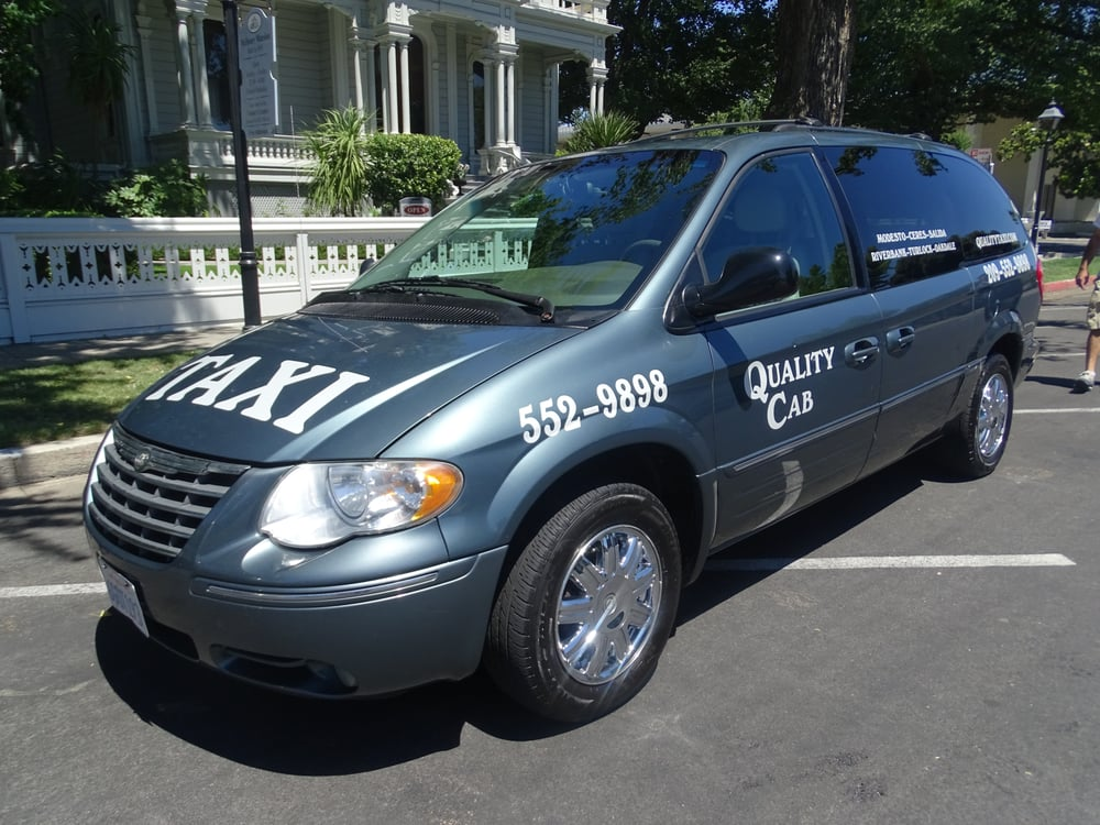 Quality Cab Taxi Service: Modesto, CA