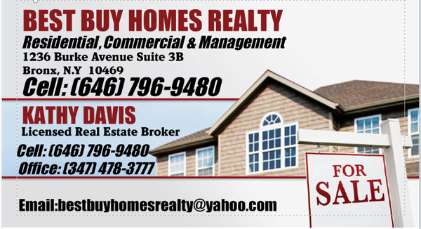 Photo Of Best Buy Homes Realty   Bronx, NY, United States. Business Card