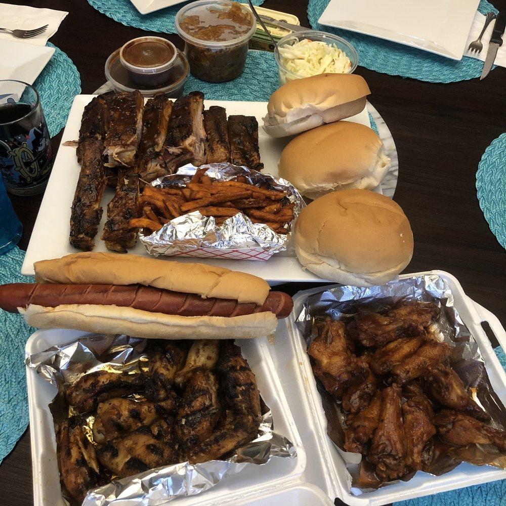 Food from Joffs Backyard Grill