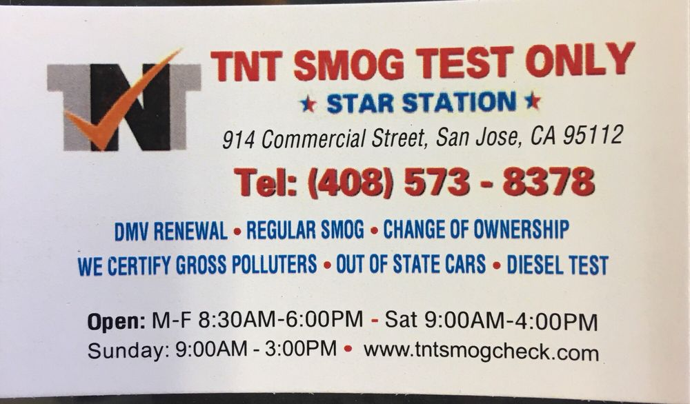 Tnt Smog Test Only - 12 Photos & 49 Reviews - Smog Check