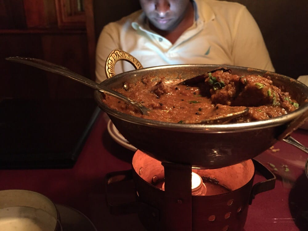 Awesome lamb curry yelp for Angeethi indian cuisine leesburg
