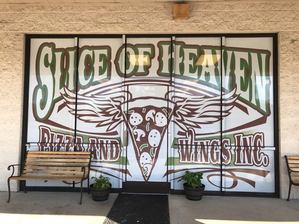 Slice of Heaven Pizza & Wings: 910 N Salisbury Ave, Granite Quarry, NC