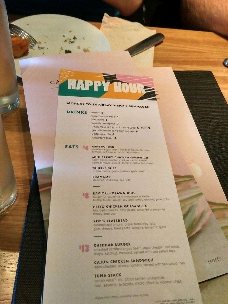 happy hour menu yelp. Black Bedroom Furniture Sets. Home Design Ideas