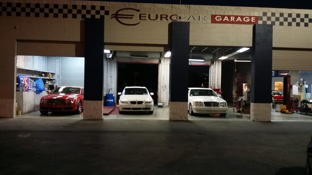 Eurocar Garage Auto Repair 445 E Sunrise Blvd Fort Lauderdale