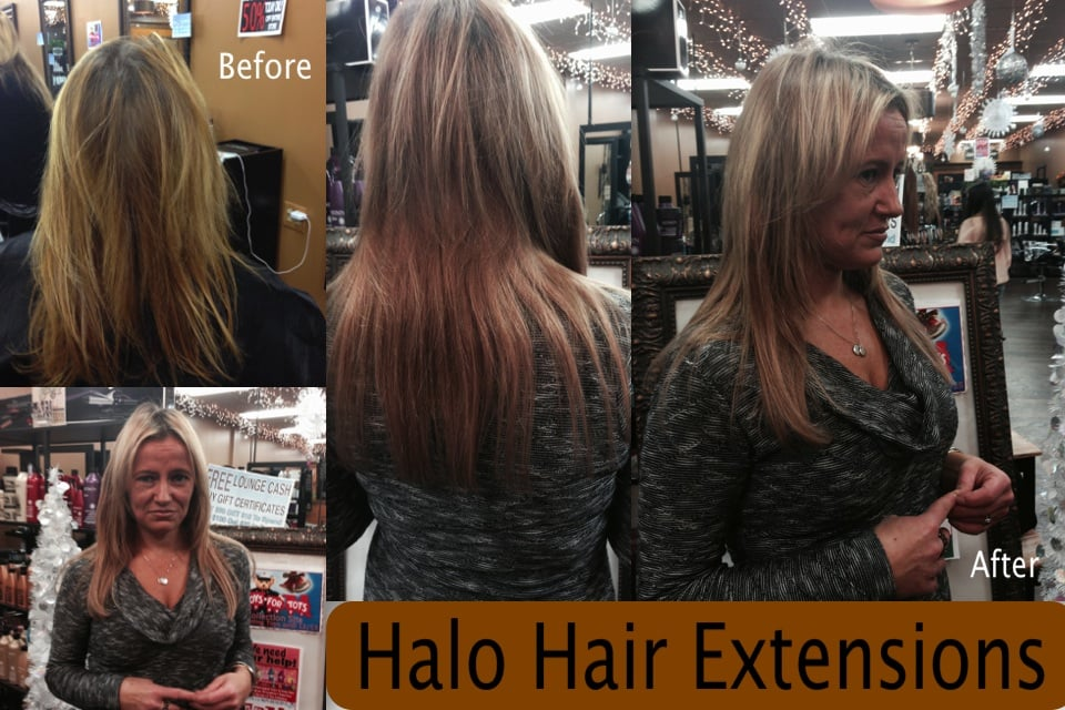 The Halo Hair Extension Is An Alternative To Bonded Hair Extensions