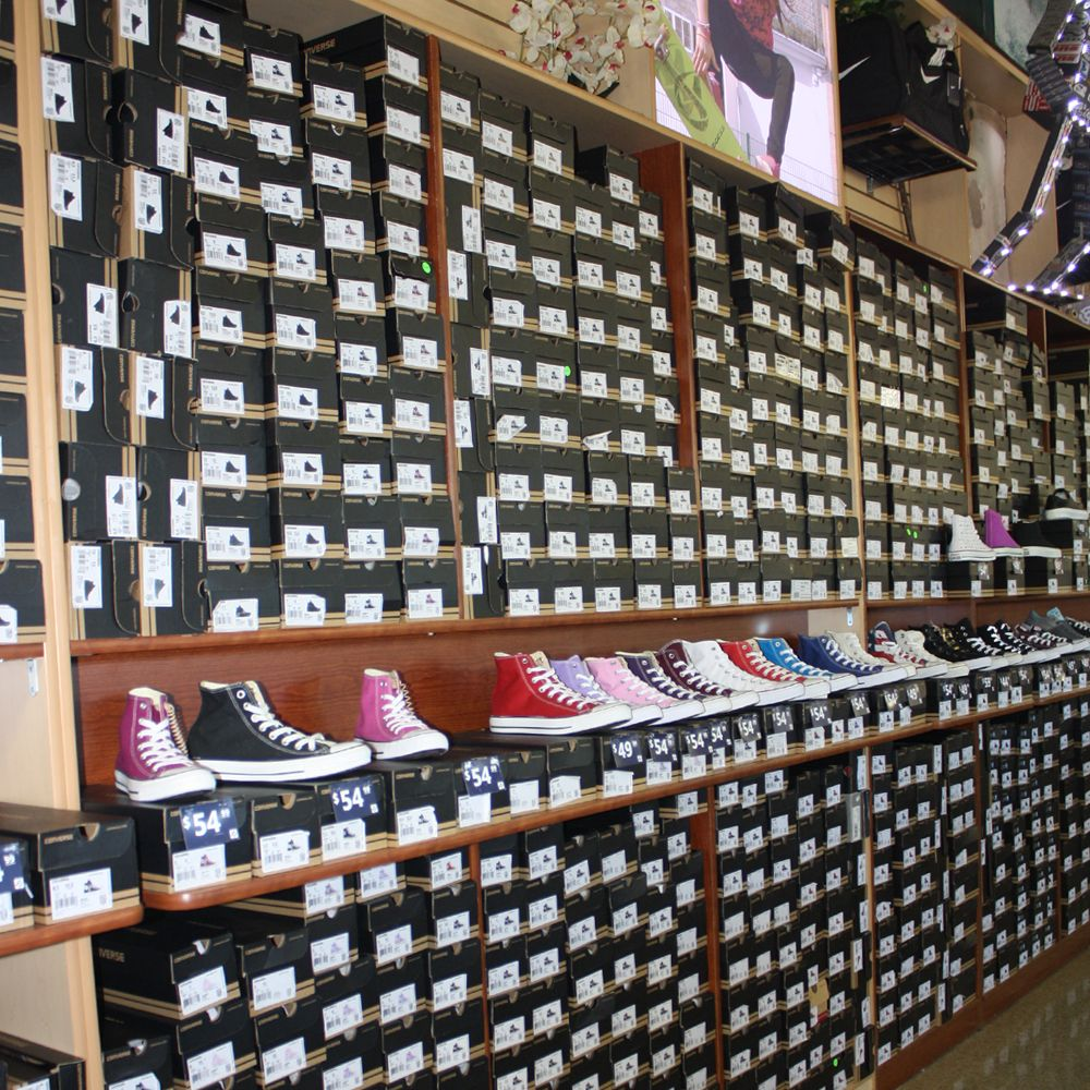 Shoe City: 808 S E St, San Bernardino, CA