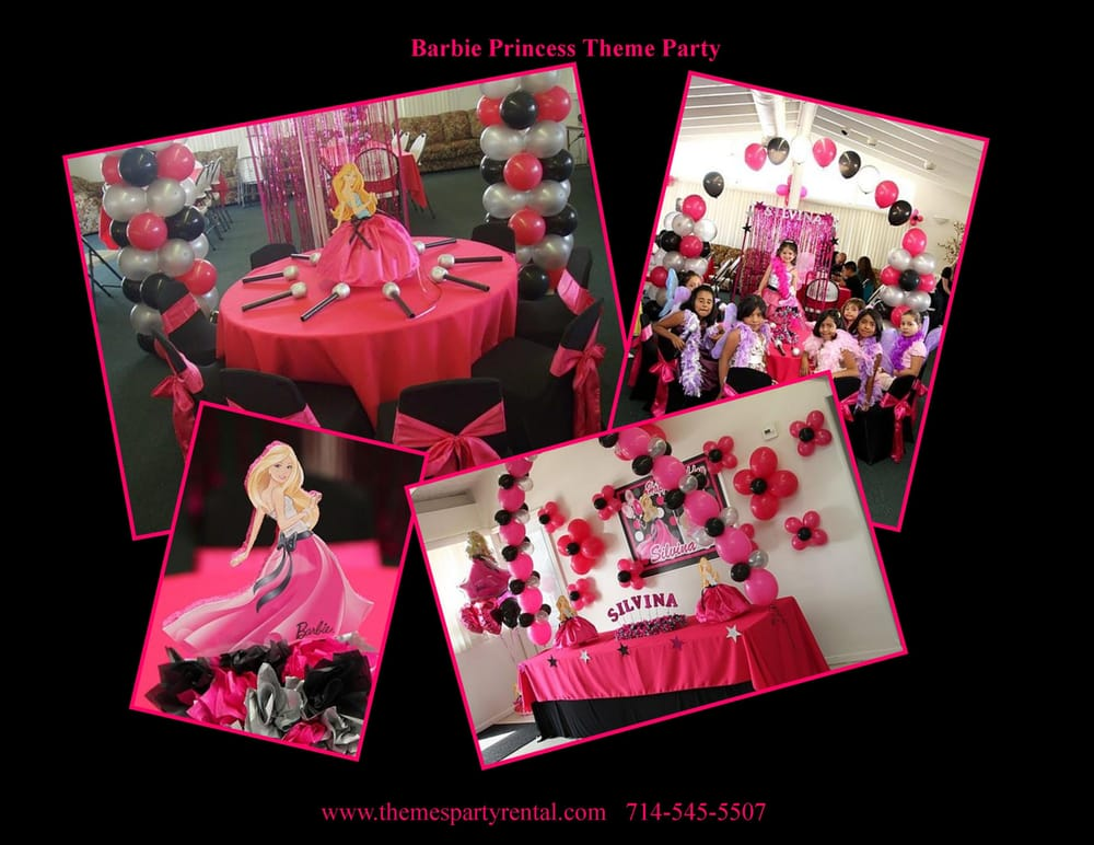 Photo of Themes For Kids Party Rental - Costa Mesa CA United States. & Barbie princess theme birthday party table set up decoration ideas ...
