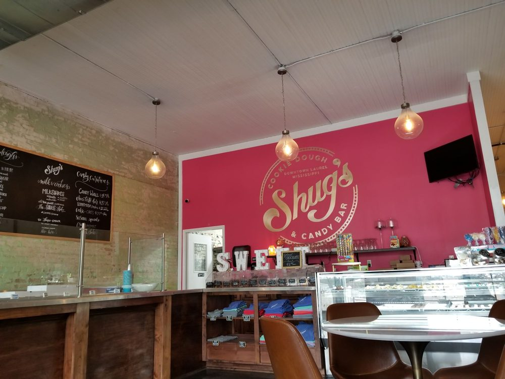 Shug's Cookie Dough & Candy Bar: 435 N Magnolia St, Laurel, MS
