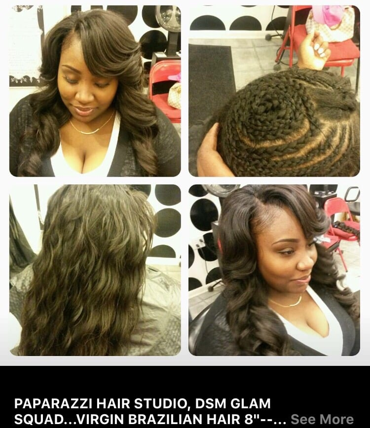 Paparazzi Hair Studio Hair Salons 1165 25th St Des Moines Ia