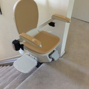 Folding Photo Of Mobility 4U Stair Lift   Castro Valley, CA, United States.