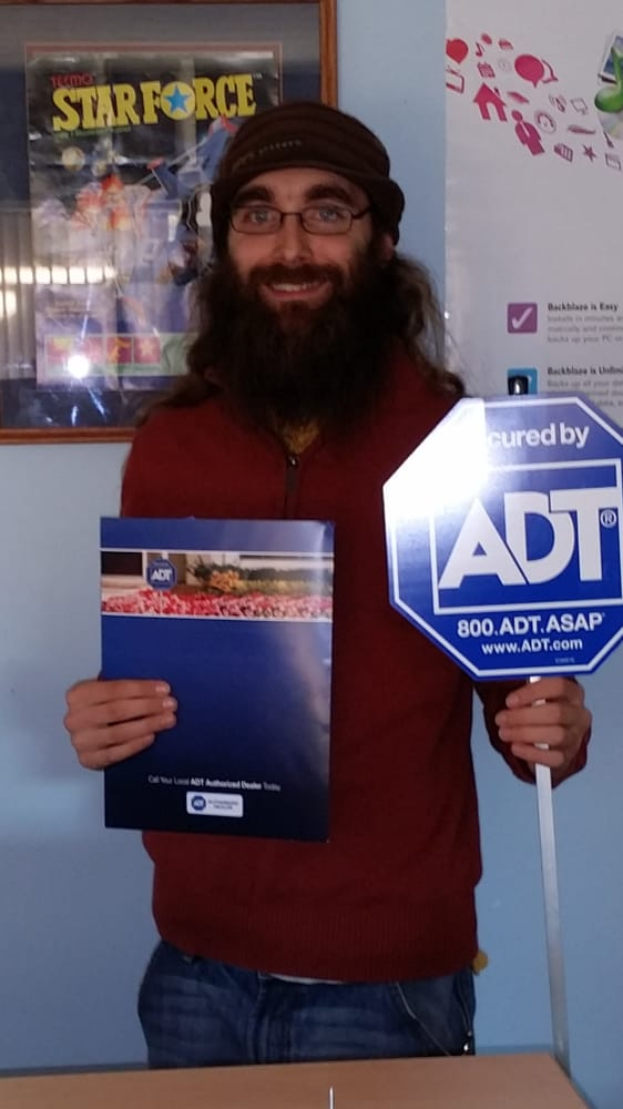 Computer Booter Owner Dave Is Happy About His New Adt