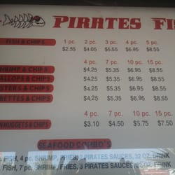 Pirate s fish chips 15 photos 44 reviews seafood for Petes fish and chips menu