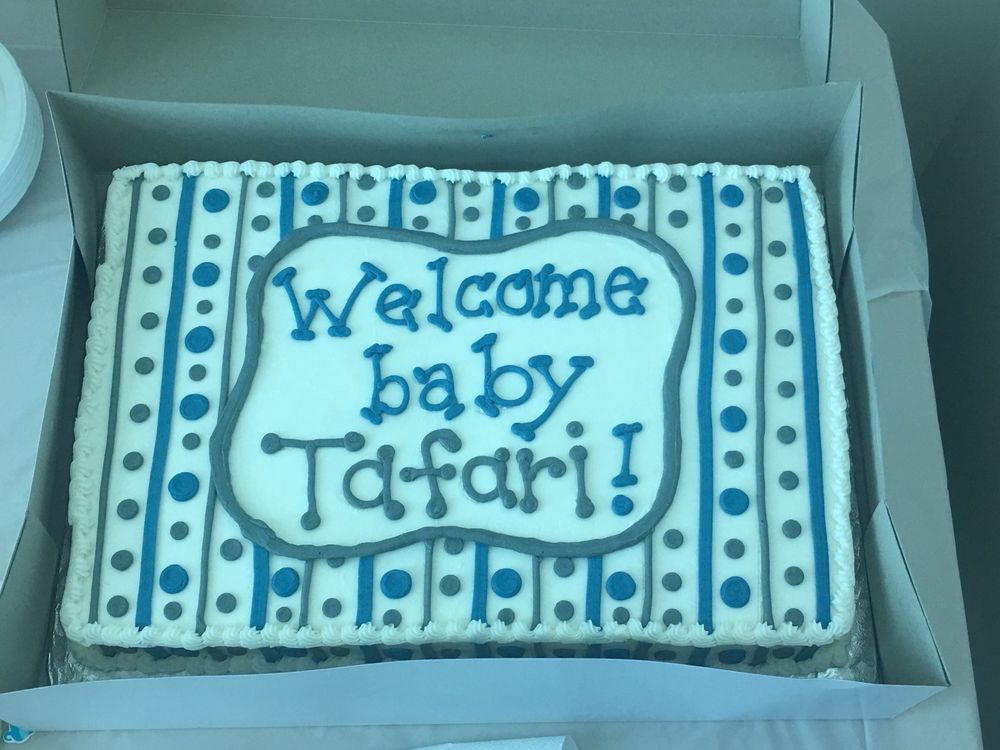Custom Cake For A Baby Shower Moist And Flavorful Yelp