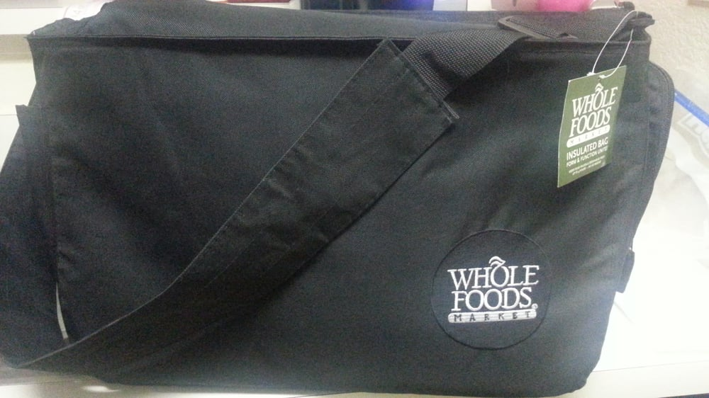 Insulated Whole Foods Messenger Bag By The Frozen Food Isle
