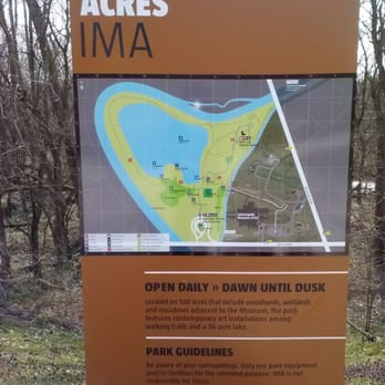 Large map just as you enter 100 acres from IMA grounds. - Yelp on fat map, ava map, artwork of indianapolis map, mas map, viking map, cmc map, thomas map, mac map, martin map, scott map, university of minnesota campus map, afa map,