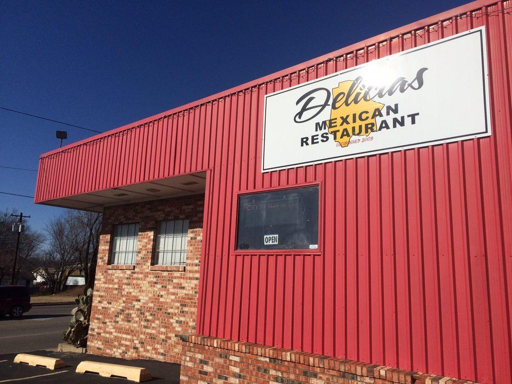 Delicias Mexican Restaurant: 700 E 17th, Ada, OK