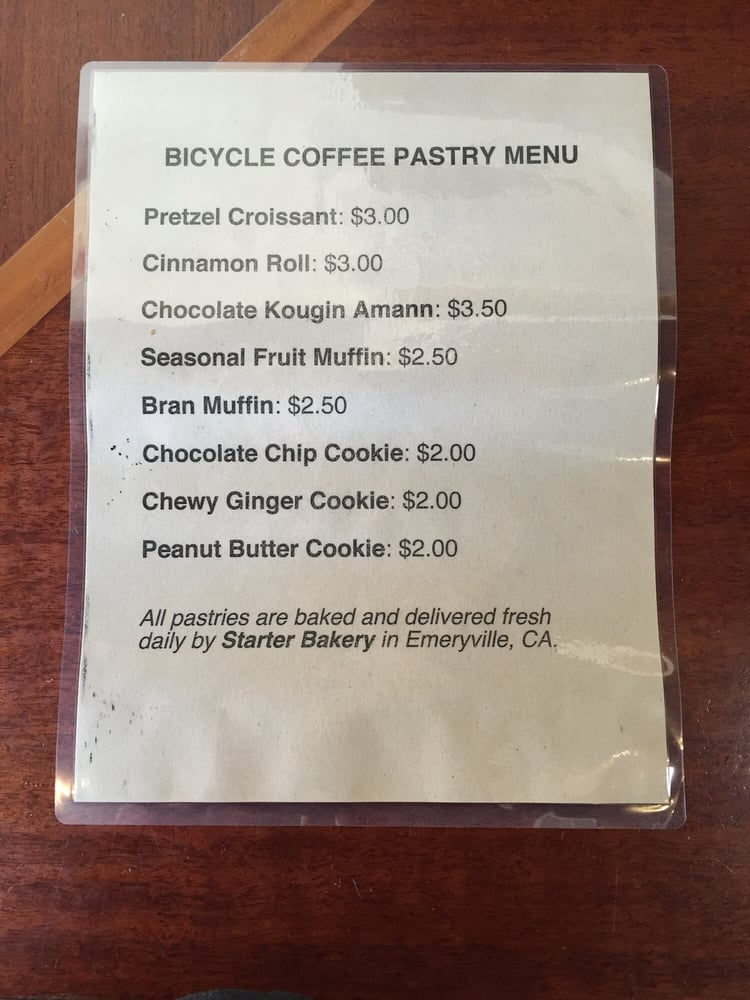 Bicycle Coffee Cafe Uptown Oakland Ca