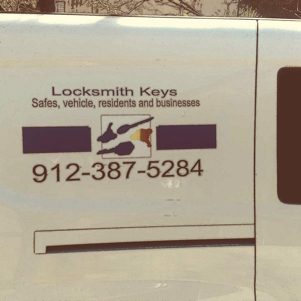 Locksmith Keys: 1825 Franklin Ave, Waycross, GA