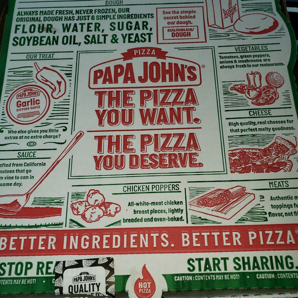 Papa John's Pizza: Dodge City Petro Travel Center, Hanceville, AL