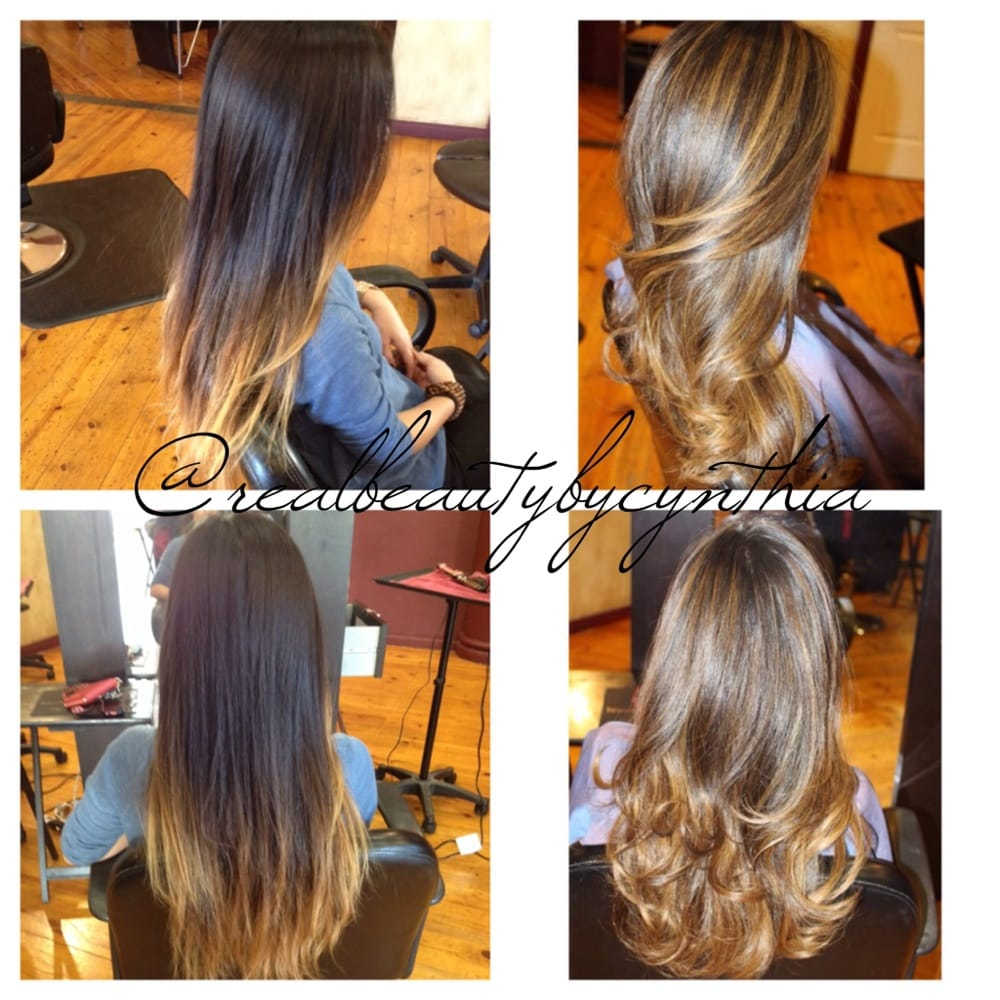 Out With Old Ombre In With New Balayage Highlights On Asian Hair