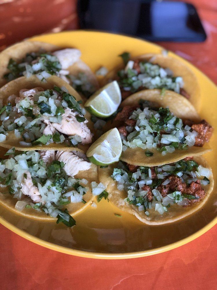 Food from Julian's Burritos