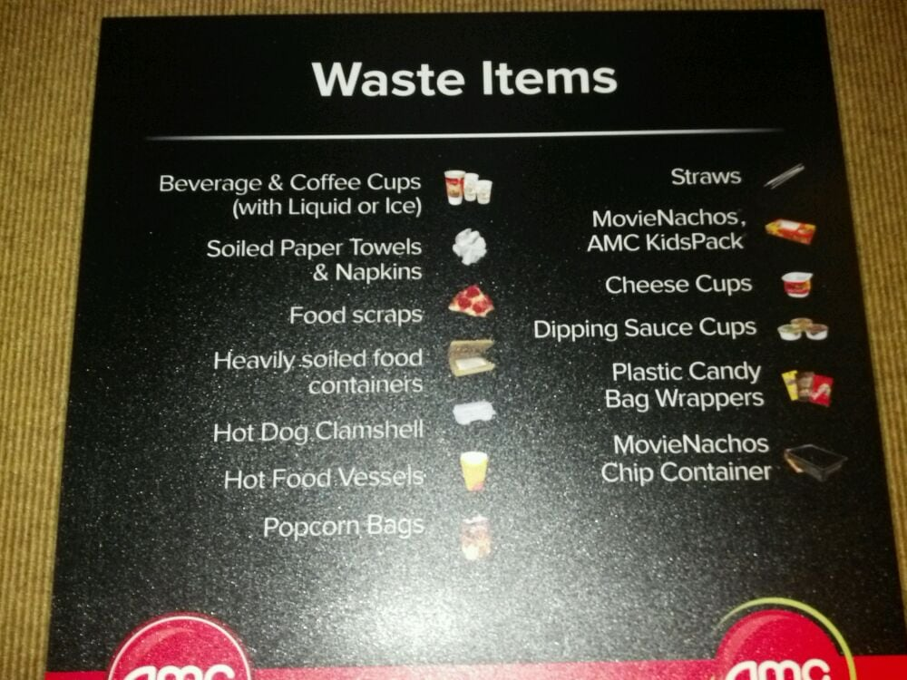 In Case You Don T Know What Is Garbage Amc Has A Sign To
