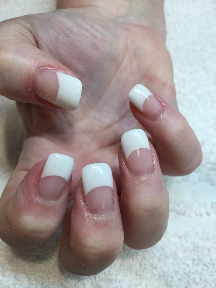 Pink white by liquid gel yelp for Acqua nail salon
