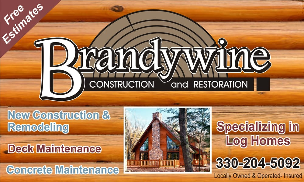Brandywine Construction & Restoration: 4636 State Rt 39 NW, Dover, OH
