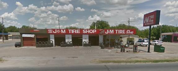 J&M Tire Shop: 1128 N Main St, Cleburne, TX