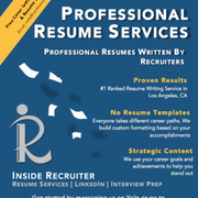 inside recruiter 135 reviews career counseling downtown los