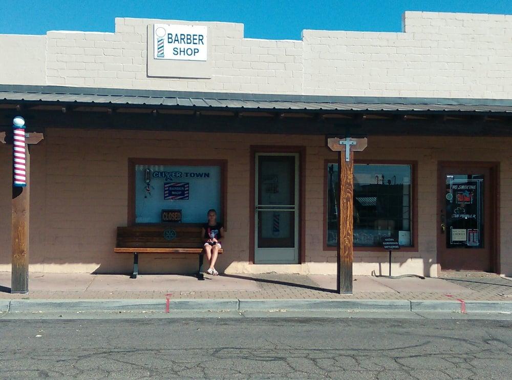 Clippertown Barber Shop: 34 E Yavapai St, Wickenburg, AZ