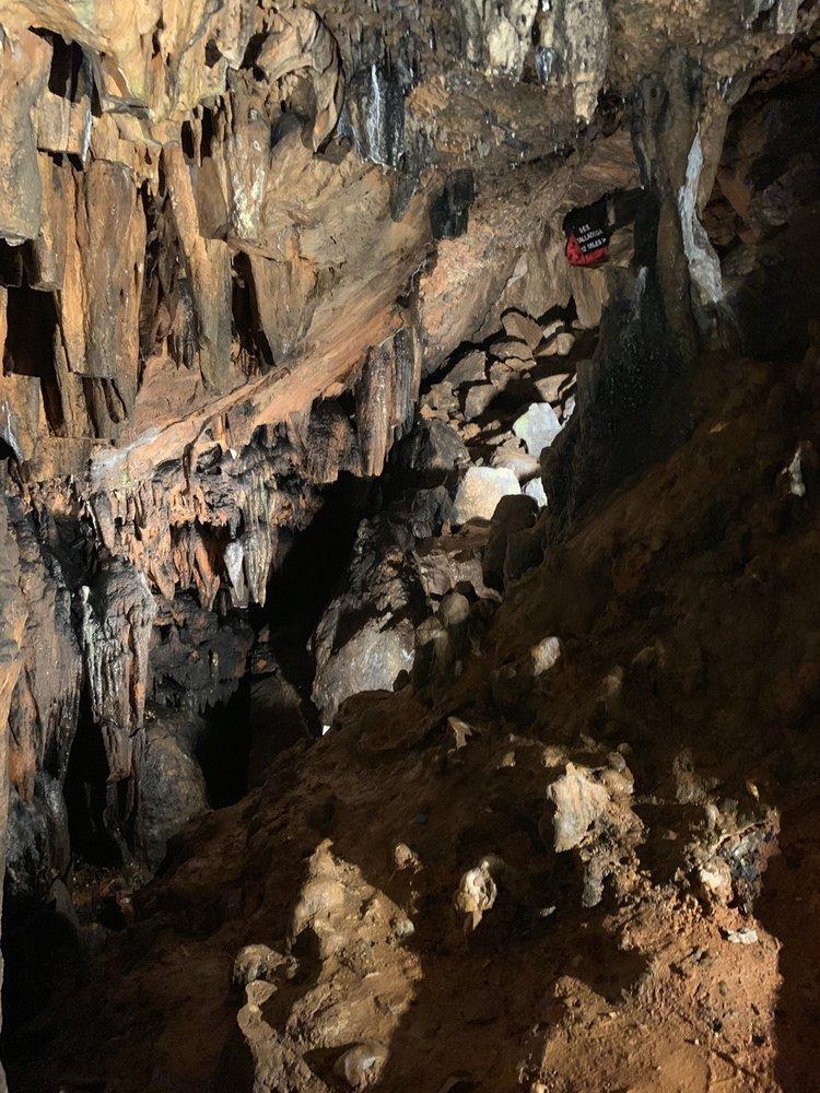 DeSoto Caverns: 5181 DeSoto Caverns Pkwy, Childersburg, AL