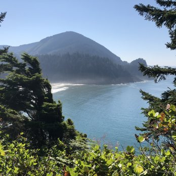 Photo Of The Houses On Manzanita Beach Or United States
