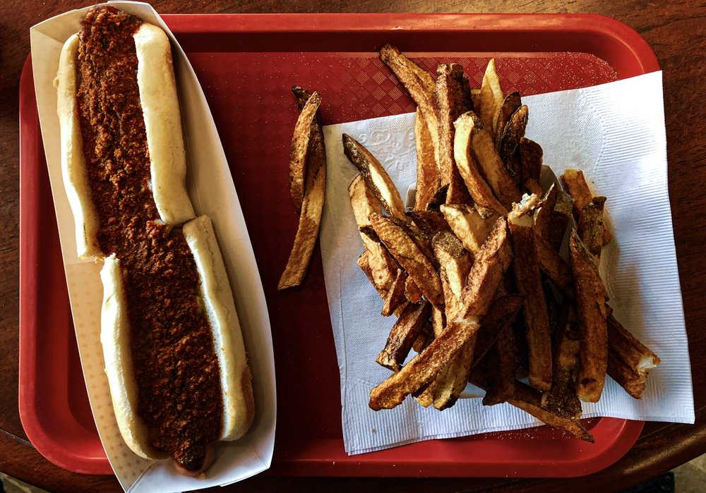 Torony's Giant Hot Dog: 1325 N River St, Plains, PA