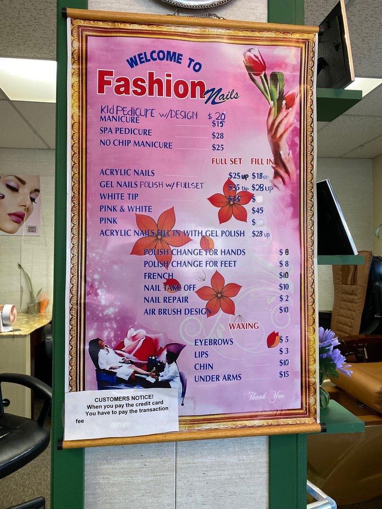 Fashion Nails: 401 N. 6th st, Rochelle, IL