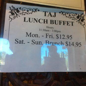 Taj Indian Restaurant Deerfield